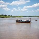 Unterwegs während der Dokumentationsreise über den aktuellen Stand nach dem Zyklon Idai.