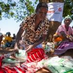 Diese Saatgut-Verteilung fand in Gondola, Provinz Manica statt. Der Ort wird Ingomai genannt. Die beteiligten Organisationen sind die Johanniter und der lokale Partner Kubatsirana. Eine der Begünstigten heißt Maria Sombre.