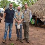 Das IDP-Camp liegt in Chibabava, Provinz Sofala. Der Ort heißt Goonda Madjaca. Das Medienteam,