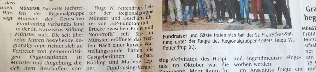 """Vortrag """"Fundraising mit bewegten und bewegenden Bildern"""" in Münster"""