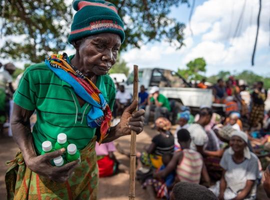 Fundraising-Fotografie: Zyklon Idai –ein Jahr danach