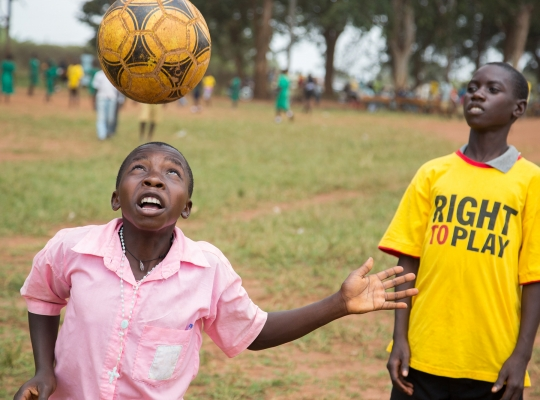 Fundraising-Film: Right To Play Uganda