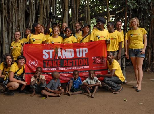 Film Entwicklungszusammenarbeit: Stop Malaria Now!