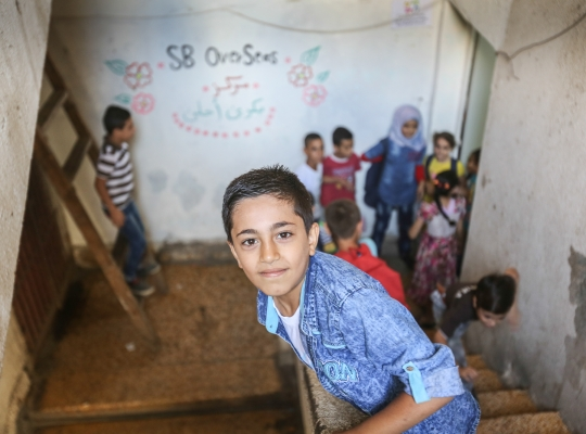 Fundraising-Fotografie: Right To Play Libanon