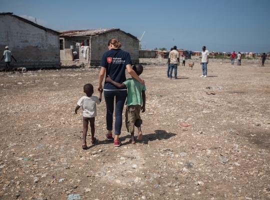 Fundraising-Fotografie: Haiti